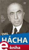 Emil Hácha (Muž, který obětoval vlastní čest) - obálka
