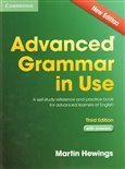 Advanced Grammar in Use 3rd Edition with Answers - obálka
