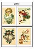 Vánoční jmenovky na dárky 8ks - obálka