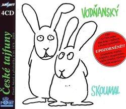 České tajfuny. Písně, básně a přednášky z let 1974 – 2000, CD - Petr Skoumal, Jan Vodňanský