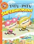 Tatu a Patu - superhrdinové - obálka