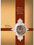 Dějiny městečka Pecka (1848 - 1990) - obálka
