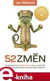 52 změn (Elektronická kniha) - obálka