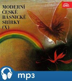Moderní české básnické sbírky X, mp3 - Marie Pujmanová, Vítězslav Nezval, František Hrubín, Vladimír Holan