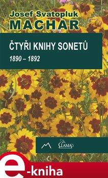 Obálka titulu Čtyři knihy sonetů