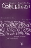 Česká přísloví - soudobý stav konce 20.století - obálka