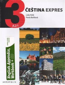 Obálka titulu Čeština expres 3 A2/1 - anglicky + CD