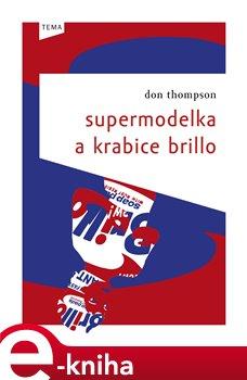 Obálka titulu Supermodelka a krabice Brillo