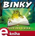 Binky a kouzelná kniha / Binky and the Book of Spells (Dvojjazyčná pohádová kniha) - obálka