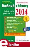 Daňové zákony 2014 (Úplná znění platná k 1. 1. 2014) - obálka