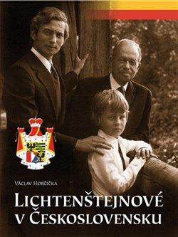 Obálka titulu Lichtenštejnové v Československu