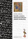 Synody a statuta olomoucké diecéze období středověku (Synods and Statutes of the Diocese of Olomouc) - obálka