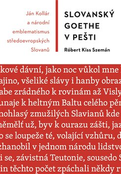 Obálka titulu Slovanský Goethe v Pešti