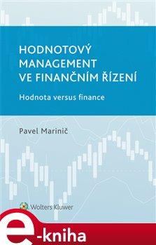 Obálka titulu Hodnotový management ve finančním řízení