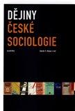 Dějiny české sociologie - obálka