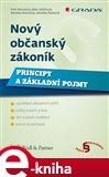 Nový občanský zákoník- Principy a základní pojmy - obálka