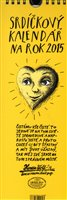 Obálka knihy Srdíčkový kalendář na rok 2015