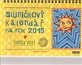 Sluníčkový kalendář 2015 - stolní - obálka