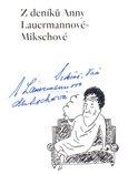 Z deníků Anny Lauermannové-Mikschové - obálka