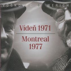 Vídeň 1971/Montreal 1977, CD - Jan Werich, Jiří Voskovec