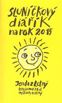 Obálka titulu Sluníčkový diářík na rok 2015