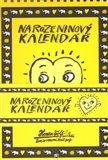 Narozeninový kalendář - obálka