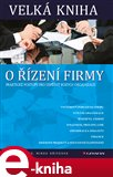 Velká kniha o řízení firmy (Praktické postupy pro úspěšný rozvoj organizace) - obálka