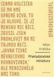 Překladatelské miniatury - obálka