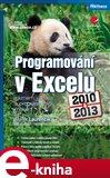Programování v Excelu 2010 a 2013 (záznam, úprava a programování maker) - obálka
