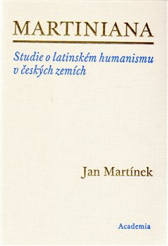 Obálka titulu Martiniana