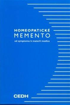 Obálka titulu Homeopatické memento