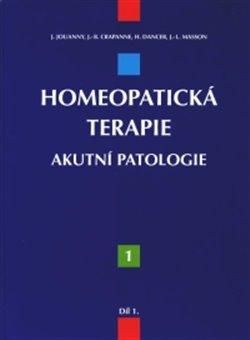 Obálka titulu Homeopatická terapie – 1. díl