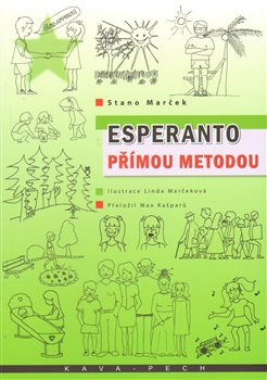 Obálka titulu Esperanto přímou metodou