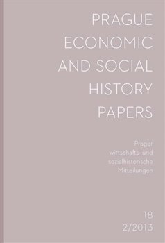 Prague Economic and Social History Papers 2013/2. Prager wirtschafts- und sozialhistorische Mitteilungen - kol.