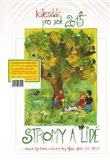 Kalendář pro rok 2015 Stromy a lidé - obálka