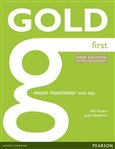 Gold First Exam Maximiser with online audio (with key) - obálka