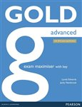 Gold Advanced Exam Maximiser with online audio (with key) (2015 Exams Edition) - obálka