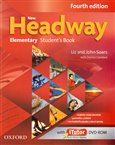 New Headway Fourth Edition Elementary Student´s Book with iTutor DVD-ROM(czech Edition) - obálka