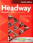 New Headway Fourth Edition Elementary Workbook Without Key with iChecker CD-ROM - obálka