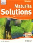 Maturita Solutions 2nd Edition Upper Intermediate Student´s Book Czech Edition - obálka