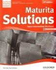 Maturita Solutions 2nd Edition Upper Intermediate Workbook with Audio CD CZEch Edition - obálka