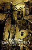 Pražské židovské pověsti a legendy - obálka