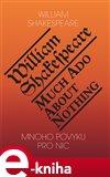 Mnoho povyku pro nic / Much Ado About Nothing (Elektronická kniha) - obálka