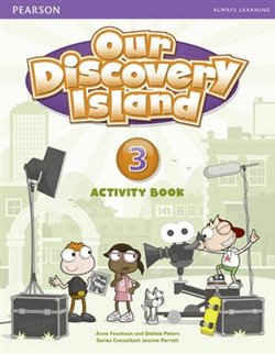 Our Discovery Island 3 Activity Book with CD-ROM - Debbie Peters, Anne Feunteun