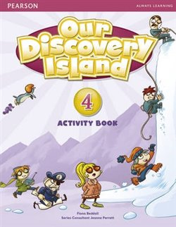 Our Discovery Island 4 Activity Book with CD-ROM - Fiona Beddall