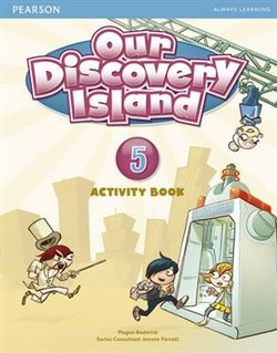 Our Discovery Island 5 Activity Book with CD-ROM - Megan Roderick