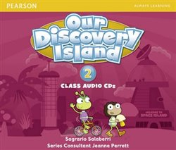 Our Discovery Island 2 Audio CD - Sagrario Salaberri