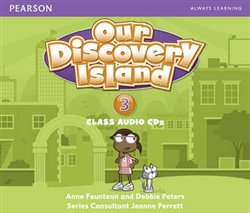 Our Discovery Island 3 Audio CD - Debbie Peters, Anne Feunteun