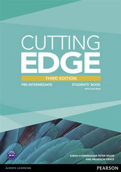 Cutting Edge 3rd Edition Pre-Intermediate Students' Book and DVD Pack - Araminta Crace