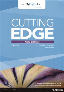 Cutting Edge 3rd Edition Starter Students Book with DVD and MyEnglishLab Pack